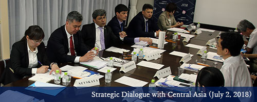 Strategic Dialogue with Central Asia