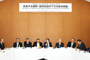 The Japan-U.S. Alliance in Changing International and Domestic Environments